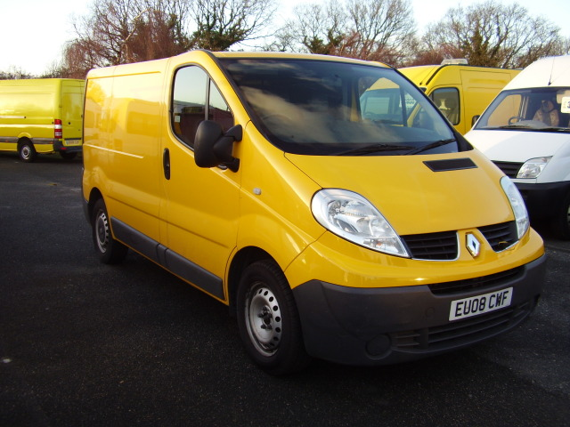 08 RENAULT TRAFIC SL29 DCI 115 £5,995.00 AA direct, 56,000 miles