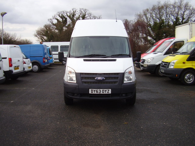 2013 (63) FORD TRANSIT 100 T350 LWB HI-ROOF £8,450.00 REAR WHEEL DRIVE