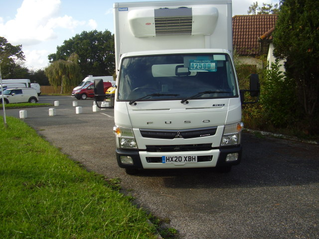 2020 Mitsubishi Fuso Canter 7C1534 £42,500.00 Fridge freezer van, only 649 miles