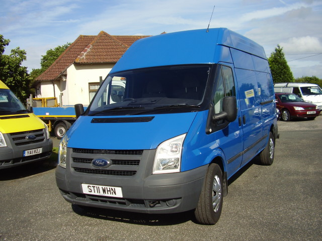 2011 FORD TRANSIT 115 T350 LWB TDCi  £6,750.00 high roof