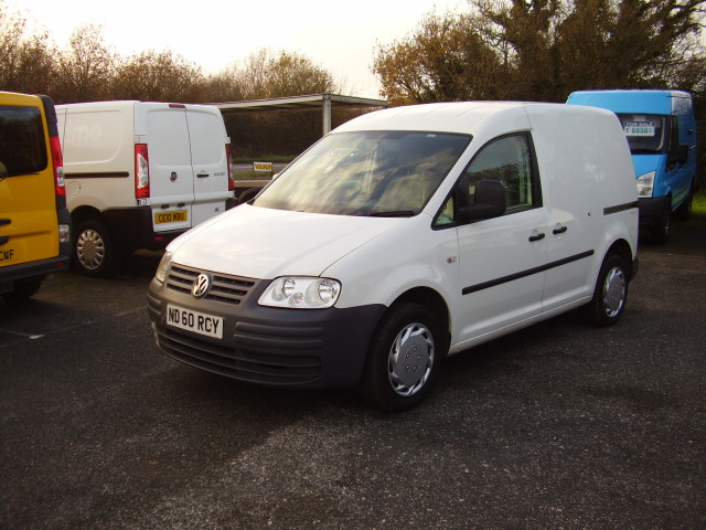 10(60) VOLKSWAGEN CADDY 69PS SDi £6,250.00 42,000 miles, service history